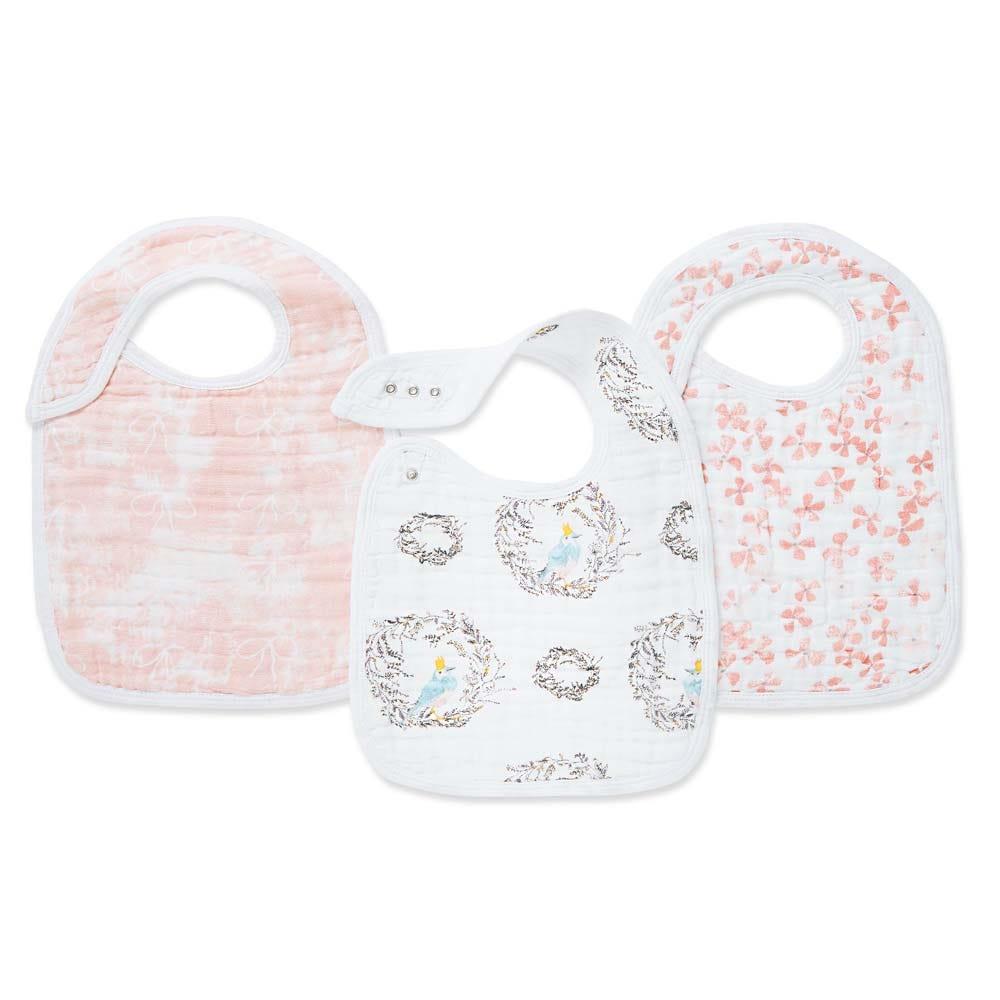 aden-anais-baby-classic-snap-bib-3pk-pink-flowers-bird-animals-birdsong-7125_0