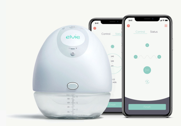 The Elvie Wearable Breast Pump
